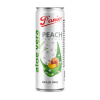 Panie Aloe Vera Peach Flavour - Can 330ml