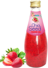 Chia seed strawberry juice - 290ml