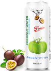 Sparkling coconut water passionfruit 330ml