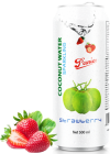 Sparkling Coconut water strawberry 500ml