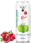 Sparkling coconut water pomegranate 330ml