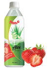 Aloe vera strawberry - bottle 500ml